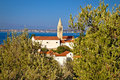 Dalmatian style town of kali in the olive trees island ugljan croatia Stock Photos