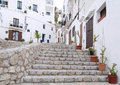 Dalt vila eivissa spain ibiza detail of the historic center Stock Photos