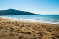 Dalyan beach turkey view of the sandy Stock Photo