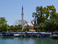 Dalyan Town Centre & Mosque, Turkey Royalty Free Stock Image