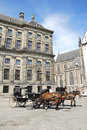 Dam square Royalty Free Stock Photo