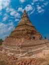That Dam stupa. Muang Khoun, Laos