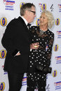 A dama Helen Mirren, Vic Reeves Foto de Stock Royalty Free