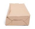 Damaged cardboard box Royalty Free Stock Photo