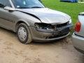 Damaged cars Royalty Free Stock Images