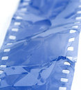 Damaged film strip Royalty Free Stock Photos
