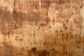 Damaged rusty stained metal texture background Royalty Free Stock Photo