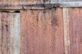 Damaged zinc background and texture of Stock Image
