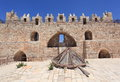 Damascus Gate in Jerusalem, Inner Side Royalty Free Stock Photo