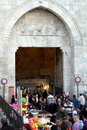 Damascus Gate Market, Jerusealem, Israel, Asia Royalty Free Stock Photos
