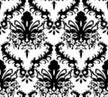 Damask background Royalty Free Stock Images