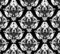 Damask pattern 2 Royalty Free Stock Photo