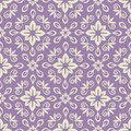 Damask pattern seamless violet and light Royalty Free Stock Photos