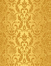 Damask seamless background Royalty Free Stock Photo