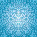 Damask seamless floral pattern background Stock Image