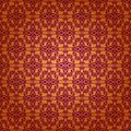 Damask seamless floral pattern ornament of elements royal wallpaper Royalty Free Stock Photography