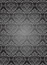 Damask seamless pattern Royalty Free Stock Photo