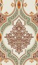 Damask seamless pattern design for textile and fashion Royalty Free Stock Photo