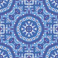 Damask pattern for tiles and fabric. Abstract geometric vintage seamless pattern ornamental