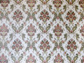Damask wallpaper Stock Photo