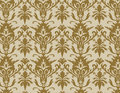 Damask wallpaper pattern Stock Images