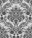 Damask wallpaper pattern Stock Photos
