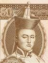 Damdin Sukhbaatar Royalty Free Stock Photo