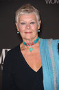 Dame Judi Dench Royalty Free Stock Photo