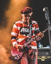 The Damned, Captain Sensible live concert 2017 Royalty Free Stock Photo