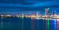 Danang Evening Cityscape Royalty Free Stock Photo