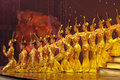 Dance by Chinese deaf actors Royalty Free Stock Photos