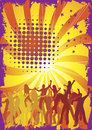 Dance cool background for party Royalty Free Stock Photo