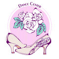 Dance line color ballroom standard shoes