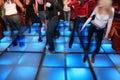 Dance night club 3 Royalty Free Stock Photo