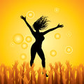 Dance party  Royalty Free Stock Image