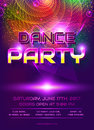 Dance party invitation.