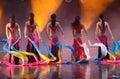 Dance performances Royalty Free Stock Photo