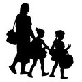 Dance recital family an image of a going to a Royalty Free Stock Photo