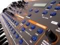 Dance Synthesizer Stock Image