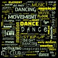 dance word cloud, dance text, dancing word cloud,word cloud use for banner, painting, motivation, web-page, website background, t-