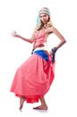 Dancer dancing spanish  dances Royalty Free Stock Image