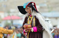 Dancer on Festival of Ladakh Heritage Royalty Free Stock Photo