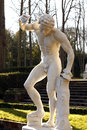 The dancing fauna made by georges fauvel deposit by louvre museum in saint cloud park in west suburb of capital of Stock Photos