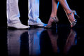 Dancing feet. Stock Photography