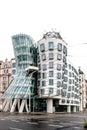 Dancing house appelée de construction à prague Photo libre de droits