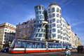Dancing house, Prague Royalty Free Stock Photography