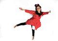 Dancing Minnie Mouse Royalty Free Stock Photo