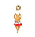 Dancing Mouse. Christmas decoration Royalty Free Stock Photo