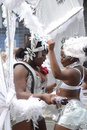 Dancing at Notting Hill Carnival Stock Photography