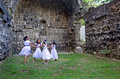 Dancing in the Ruins Royalty Free Stock Images